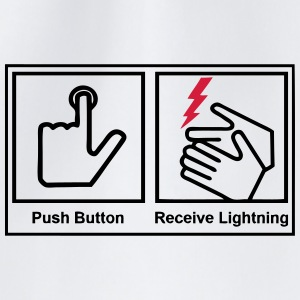 push button, receive lightning Krus & tilbehør - Sportstaske
