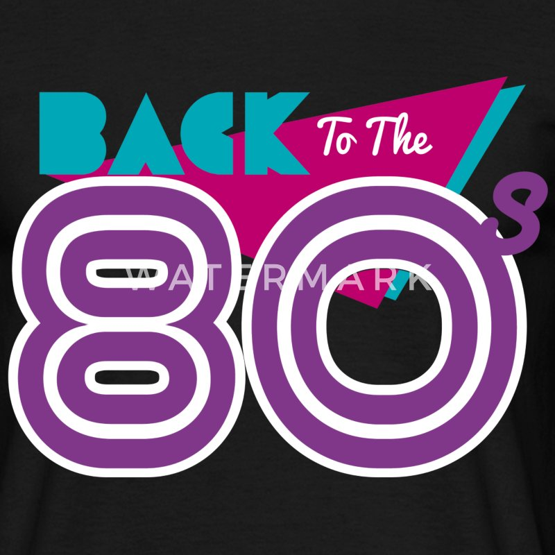 back to the 80 Tee shirts - T-shirt Homme
