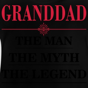 Granddad  the man the myth the legend Shirts - Baby T-Shirt