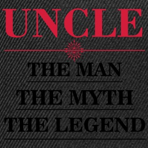uncle_man_myth_legend T-Shirts - Snapback Cap