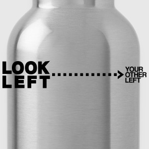 Look left T-Shirts - Trinkflasche