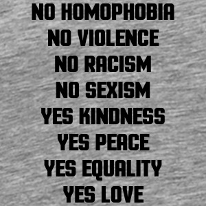 No Homophobia  Other - Men's Premium T-Shirt
