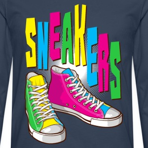 Funky sneakers - T-shirt manches longues Premium Homme
