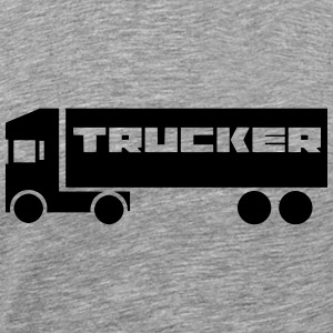 TRUCKER Tank Tops - Men's Premium T-Shirt