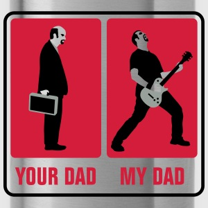 your_dad_my_dad_guitar_player03_3c Accessoires - Trinkflasche