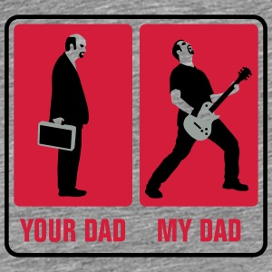 your_dad_my_dad_guitar_player03_3c Accessoires - Männer Premium T-Shirt