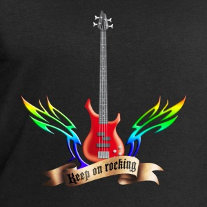 bass_guitar_and_wings_052015_red_c T-Shirts - Männer Sweatshirt von Stanley & Stella