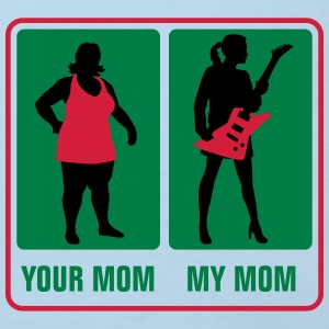 your_mom_my_mom_guitar_player02_3c Baby Bodys - Kinder Bio-T-Shirt
