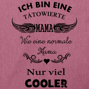 Tattoo Mama - Schultertasche aus Recycling-Material