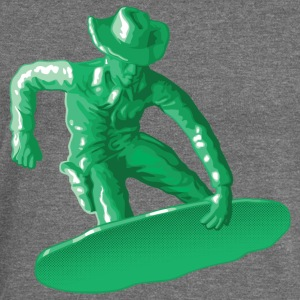Green snowboarding toy - Women's Boat Neck Long Sleeve Top