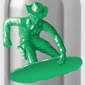 Green snowboarding toy - Water Bottle