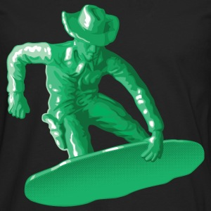 Green snowboarding toy - Men's Premium Longsleeve Shirt
