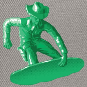 Green snowboarding toy - Snapback Cap