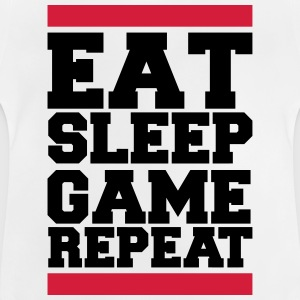 eat sleep game repeat T-Shirts - Baby T-Shirt