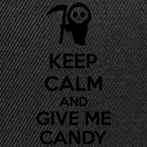 Keep Calm And Give Me Candy Forklær - Snapback-caps