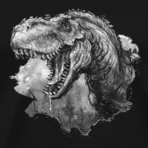 t-rex portrait - Men's Premium T-Shirt
