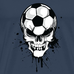 Football Skull - Men's Premium T-Shirt