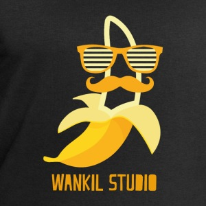 hipster banana - Men's Sweatshirt by Stanley & Stella