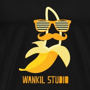 hipster banana - Men's Premium T-Shirt