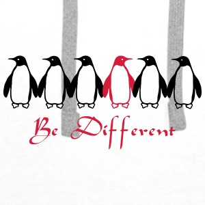 Be Different Mugs & Drinkware - Men's Premium Hoodie