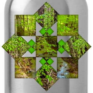 Nature Pattern T-Shirts - Water Bottle