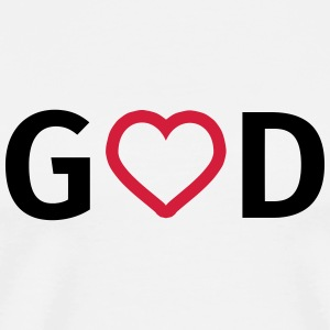 God is Love Mugs & Drinkware - Men's Premium T-Shirt