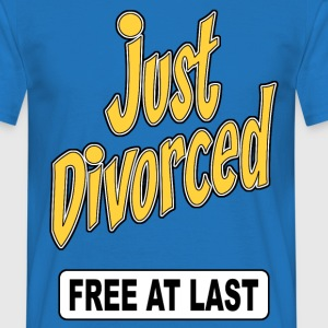 just divorced 02 Sweat-shirts - T-shirt Homme