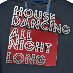 House Dancing - Premium hettegenser for menn