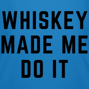 Whiskey Made Me Do It Sweatshirts - Organic mænd