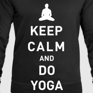 Keep Calm and do Yoga - Männer Sweatshirt von Stanley & Stella