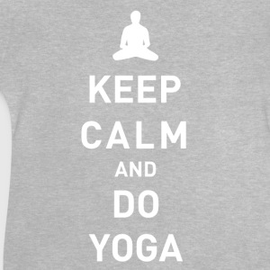 Keep Calm and do Yoga - Baby T-Shirt
