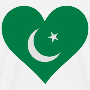 A heart for Pakistan Long Sleeve Shirts - Men's Premium T-Shirt