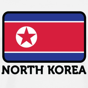 National flag of North Korea Bags & Backpacks - Men's Premium T-Shirt