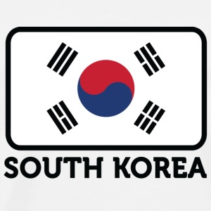 National flag of South Korea Sports wear - Men's Premium T-Shirt