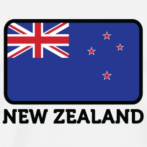 National Flag of New Zealand Long sleeve shirts - Men's Premium T-Shirt