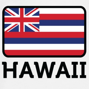 National Flag of Hawaii Accessories - Herre premium T-shirt