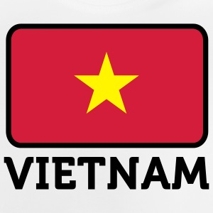 Drapeau national du Vietnam Sweats - T-shirt Bébé