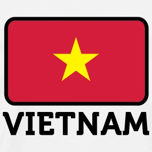 Drapeau national du Vietnam Sweats - T-shirt Premium Homme