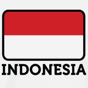 National flag of Indonesia Mugs & Drinkware - Men's Premium T-Shirt