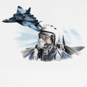 Fighter pilot T-shirts - Baseballcap