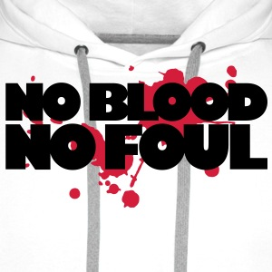 Basketball - No Blood No Foul - Men's Premium Hoodie
