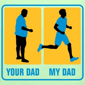 your_dad_my_dad_jogging02_3c T-Shirts - Frauen Tank Top von Bella