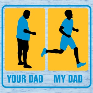 your_dad_my_dad_jogging02_3c Baby Bodys - Frauen Tank Top von Bella