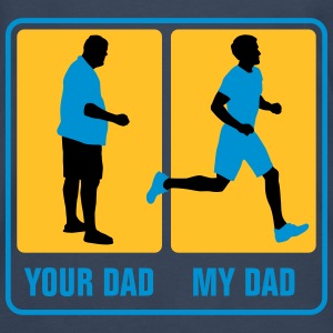 your_dad_my_dad_jogging02_3c Baby Bodys - Männer Premium Langarmshirt