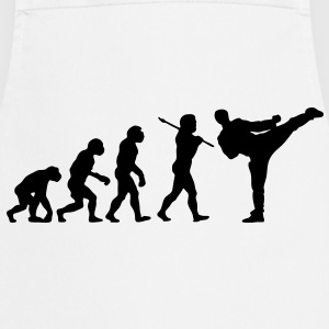 Martial Arts Kick Evolution - Cooking Apron