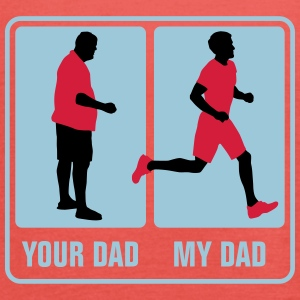 your_dad_my_dad_jogging03_3c T-Shirts - Frauen Tank Top von Bella