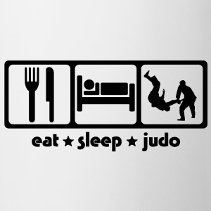 Martial Arts Eat Sleep Judo - Mug