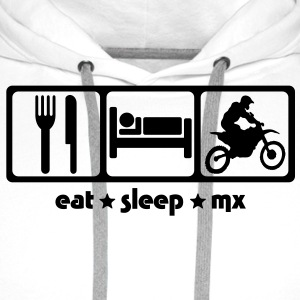 Motocross Eat Sleep MX - Men's Premium Hoodie
