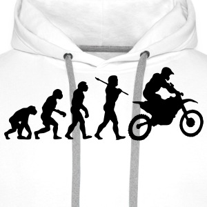 MX Motocross Race Evolution - Men's Premium Hoodie