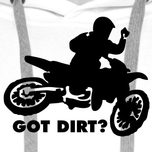 MX Motocross Got Dirt? - Men's Premium Hoodie